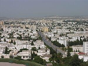 Les quartiers d'El Menzah et d'El Manar dans l...