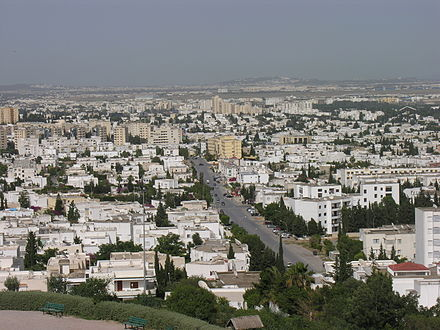 El Menzeh-El Manar District QuartiersElMenzah ElManar TunisNord.JPG