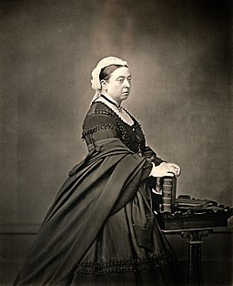 Queen Victoria. Photograph. Wellcome V0018086