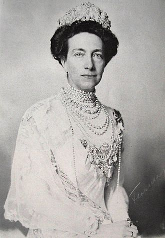 Victoria of Baden - Queen Victoria in 1910
