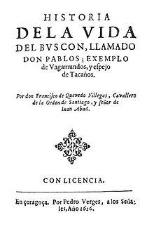 Quevedo El Buscon 1626.JPG