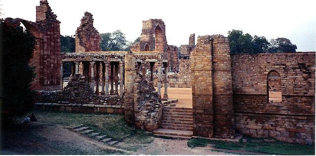 Ancient India Quwwat Ul Islam Mosque