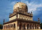 De Qutub Shahi (keuningsgrave) in Hyderabad (India).