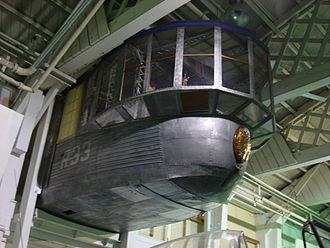 R33-class airship - The forward section of R33 control car at RAF Museum (Hendon), 2008