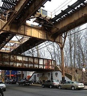 Brooklyn Manor station LIRR station
