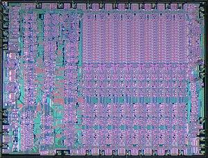 RCA 1802 - RCA CDP1802 die shot