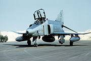 RF-4C Phantom II of the 117th Tactical Reconnaissance Wing during Operation Desert Storm