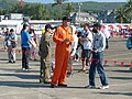 ROCAF Pilot Talking with Visitor in Chih Hang Air Force Base Open Day 20130601a.jpg