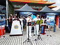 ROCN Sailors Playing Trumpet and Guitar in Exhibition 20130608.jpg