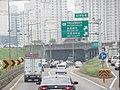 ROK Natl Route 1 Seobu Arterial Highway Sinjeonggyo IC Exit(Geumcheon IC Dir).jpg