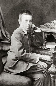 Rachmaninoff at age 10