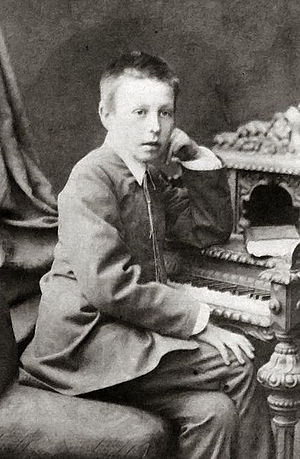Sergei Rachmaninoff - Rachmaninoff at age ten