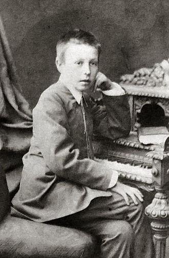 Sergei Rachmaninoff - Rachmaninoff at age 10
