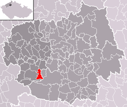 Location of Radovesice