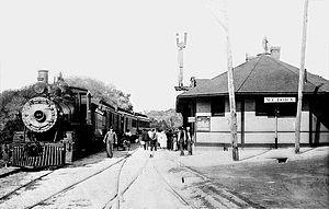 Mount Dora, Florida - Railroad Station in c. 1920