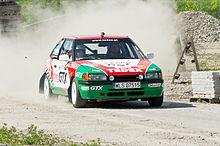 Mazda Protege Race Car