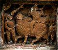Rameswar Temple - Kalna - Terracotta Panel - Front Right Pillar - 3.jpg