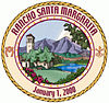 Official seal of Rancho Santa Margarita, California