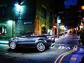 Range Rover Evoque Convertible London Street at Night (6812390368).jpg