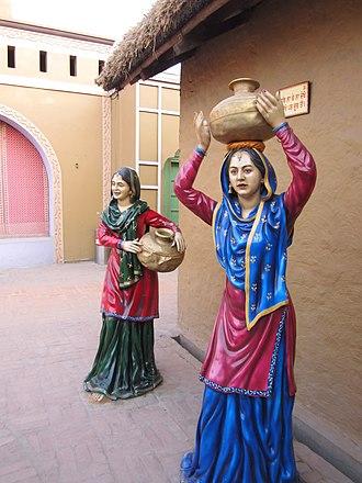 Punjabi ghagra - Rangla Punjab. Punjabi Ghagra