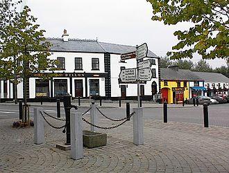 Rathangan, County Kildare - Rathangan town centre.