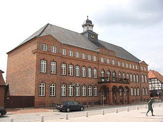 Hagenow - Town hall of Hagenow