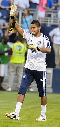 Raul Fernandez MLS AllStar 2013.jpg