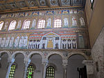 Ravenna, sant'apollinare nuovo, int., mosaici 02.JPG