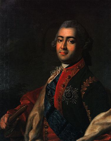 Портрет Алексея Разумовского