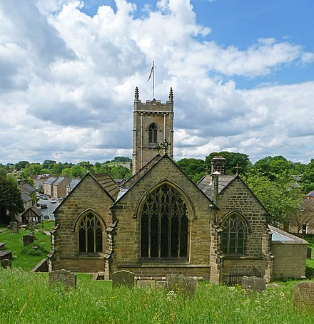 St Peter's Church Rear of St Peter's Church, Thorner, West Yorkshire (Taken by Flickr user 10th June 2012).jpg