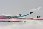 Red Arrows over Jersey.JPG