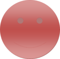 Red Gradient Smiley Face.png