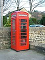 Red telephone box at Hathersage - geograph.org.uk - 604877.jpg