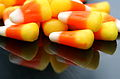 Reflected candy corn, October 2006.jpg