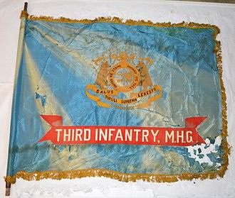 3rd Missouri Volunteer Infantry - Regimental Colors of the 3rd Infantry, Missouri Home Guard