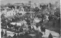 Regimiento de artillería nr 1 embarcando en la est central de Santiago en 1879.png