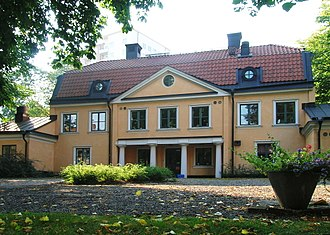 Reimersholme - Former estate of Anders Reimer, during World War II transformed into a day nursery.