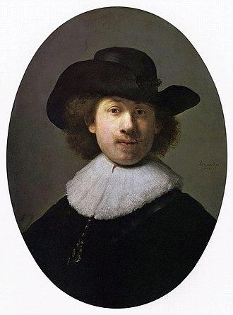 Self-portraits by Rembrandt - Image: Rembrandt Harmensz. van Rijn 144