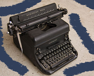 Remington Rand - Remington Rand KMC typewriter