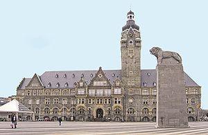 Remscheid - Town Hall of Remscheid.