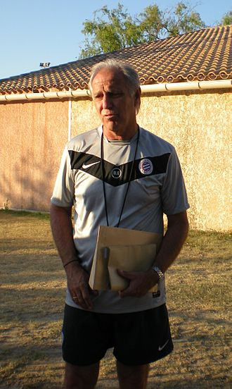 Montpellier HSC - René Girard, former manager.