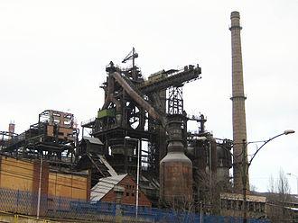 Reșița works - Image: Resita furnal