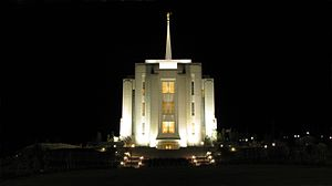 Rexburg, Idaho - Rexburg Idaho Temple of The Church of Jesus Christ of Latter-day Saints