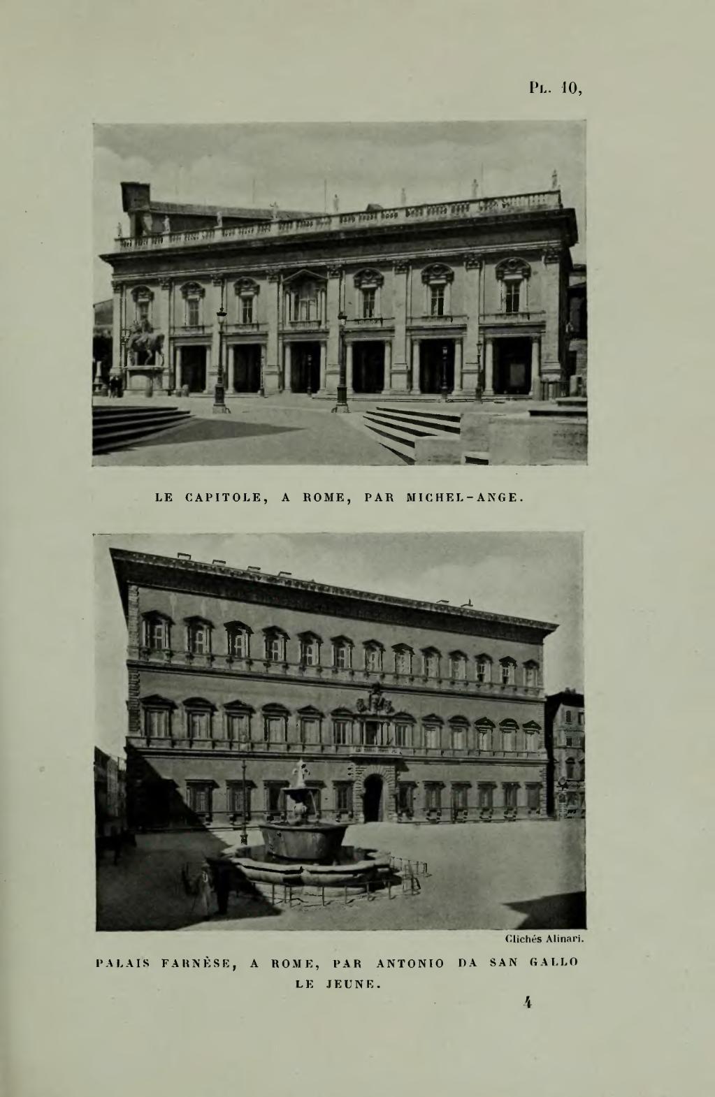 Page reymond bramante et l architecture italienne au for Architecture italienne