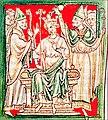 Richard Löwenhez, Salbung zum König.jpg