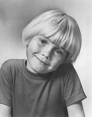 Ricky Schroder - Child actor, 1976