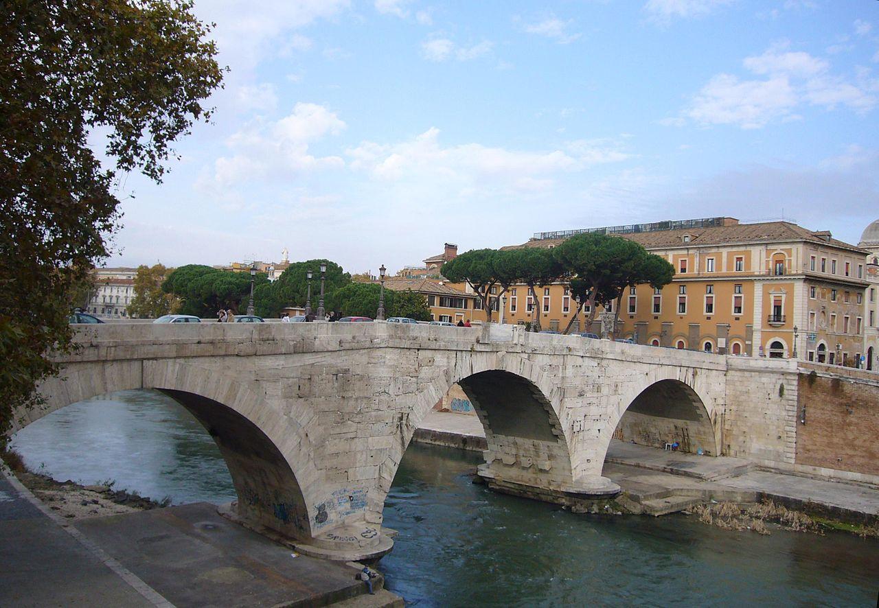 I ponti antichi sul tevere capitolivm for Disegni di ponte anteriore