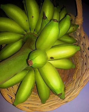 Señorita banana - Image: Ripe señorita bananas (Musa acuminata 'Señorita')