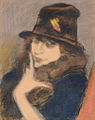 Rippl Woman in Black Hat 1918.jpg