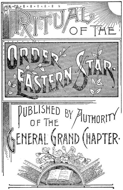 Ritual of the Order of the Eastern Star - Title Page.png